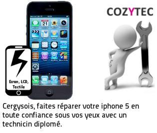 Reparation ecran iphone 5 Cergy